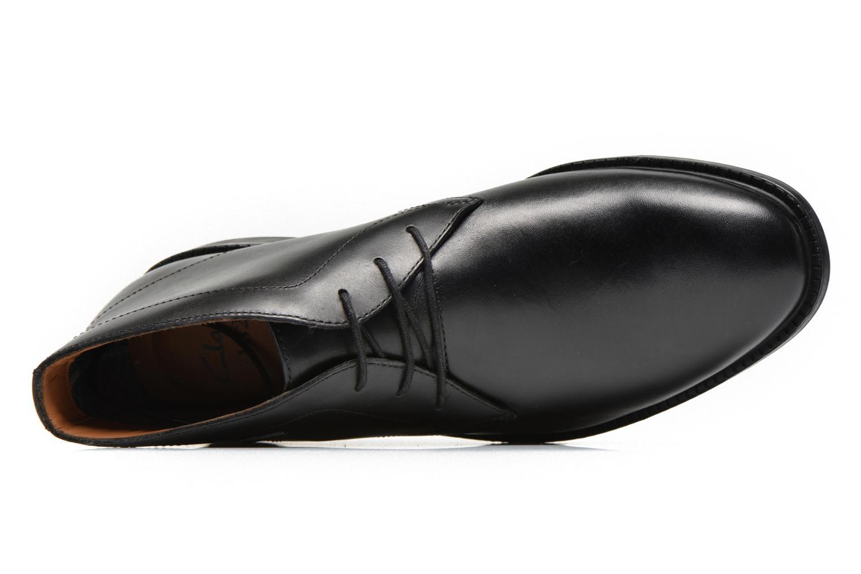 Chaussures à lacets Clarks Chilver Hi GTX Noir vue gauche