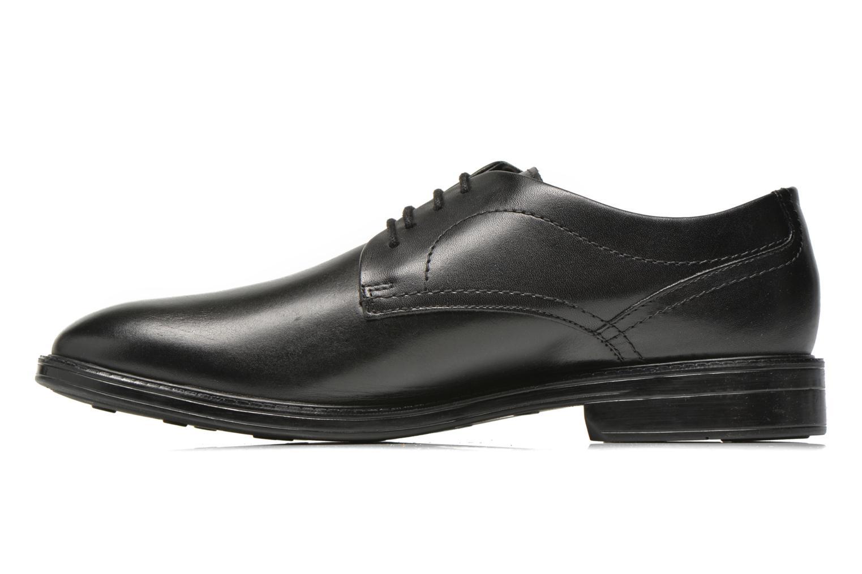 Chaussures à lacets Clarks Chilver Walk GTX Noir vue face