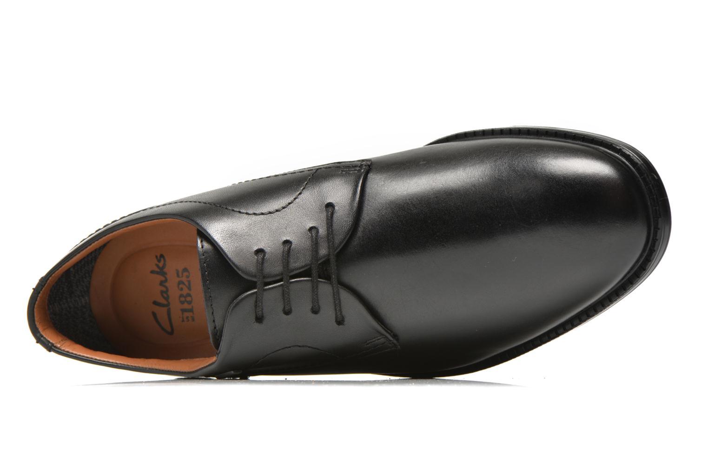 Chaussures à lacets Clarks Chilver Walk GTX Noir vue gauche