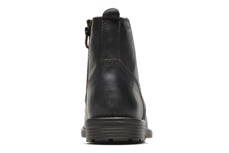 Faulkner Rise Black leather
