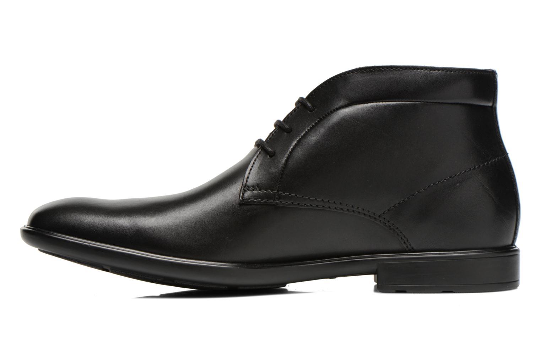 Chaussures à lacets Clarks Gosworth Hi Noir vue face