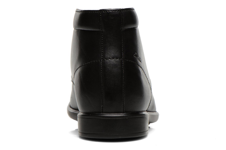 Chaussures à lacets Clarks Gosworth Hi Noir vue droite