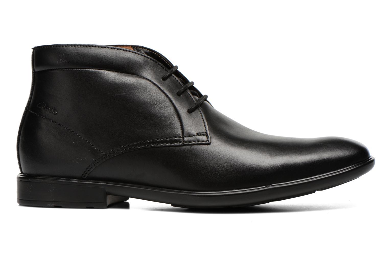 Chaussures à lacets Clarks Gosworth Hi Noir vue derrière
