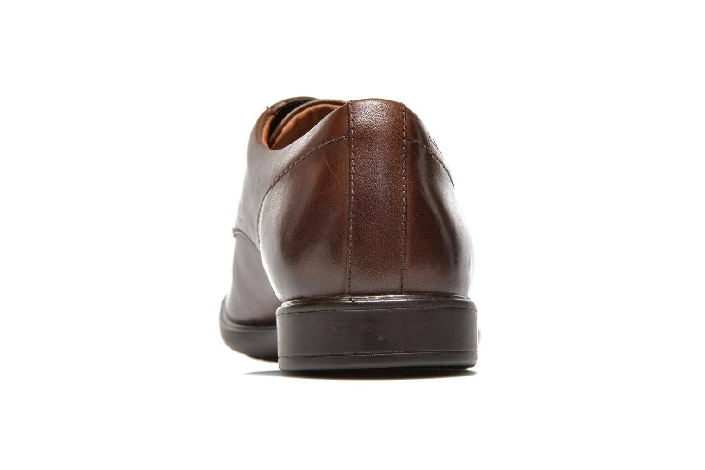 Chaussures à lacets Clarks Gosworth Over Marron vue droite