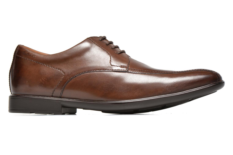 Chaussures à lacets Clarks Gosworth Over Marron vue derrière