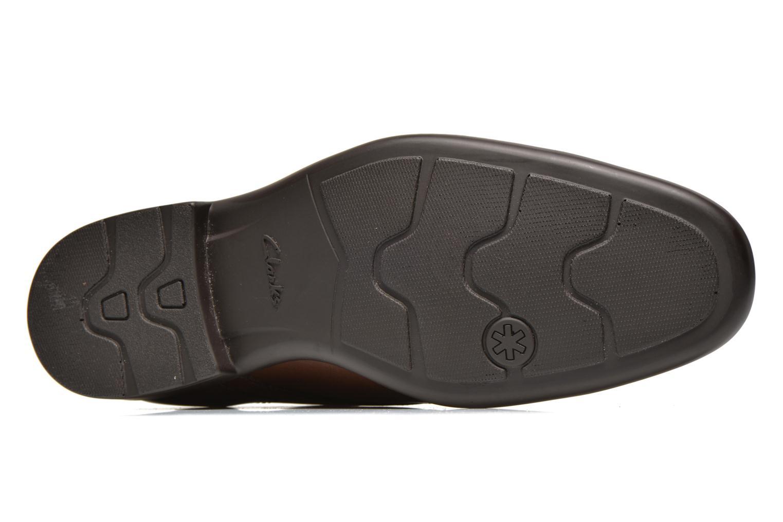 Chaussures à lacets Clarks Gosworth Over Marron vue haut