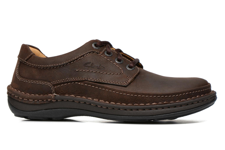 Chaussures à lacets Clarks Nature Three Marron vue derrière
