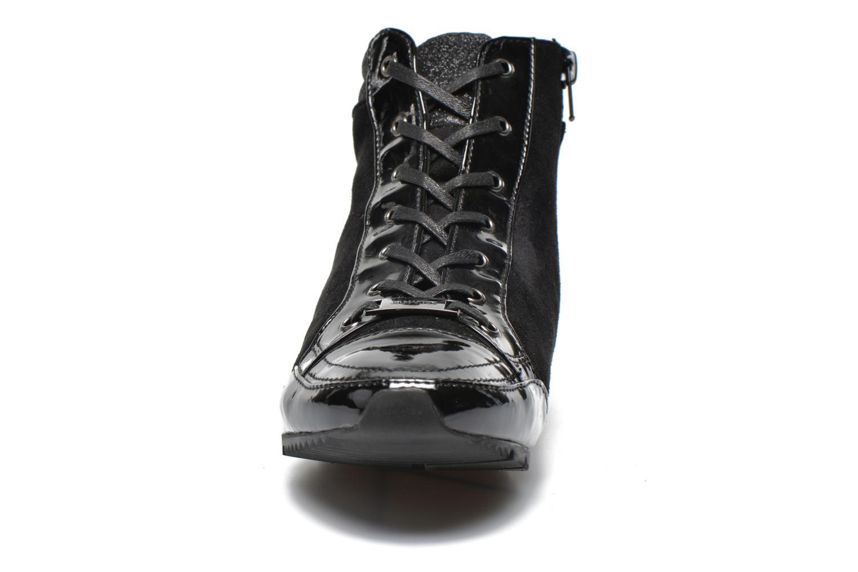 Baskets JB MARTIN Spike Noir vue portées chaussures