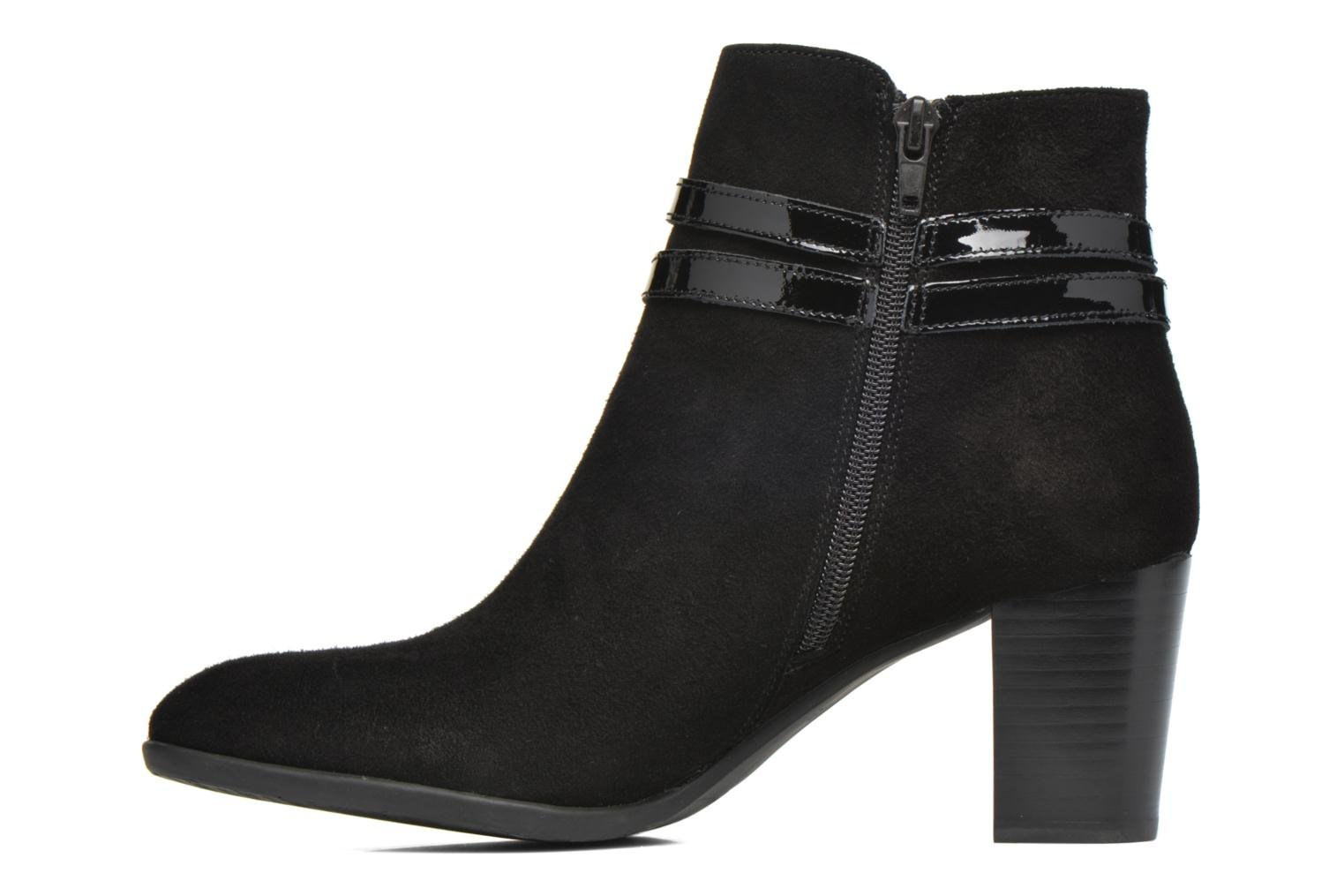 Ankle boots JB MARTIN Cynthia Black front view