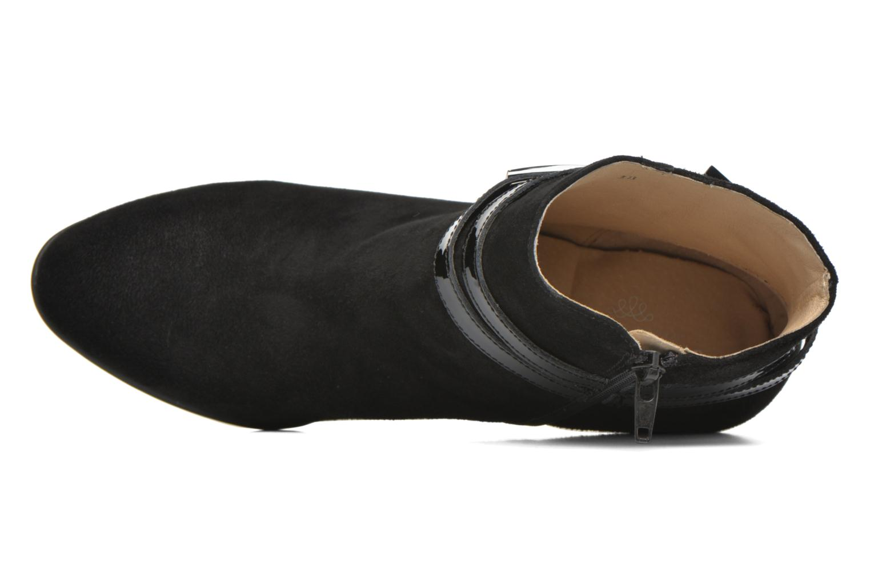 Bottines et boots JB MARTIN Cynthia Noir vue gauche