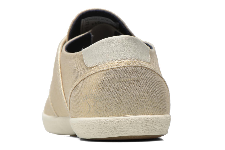 Sneakers Faguo Cypress W Goud en brons rechts