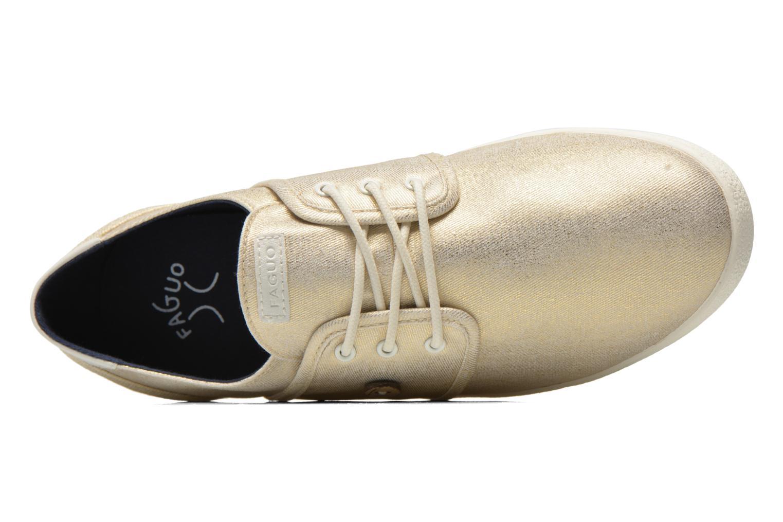 Sneakers Faguo Cypress W Goud en brons links