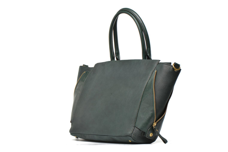 Handtaschen Nat & Nin Suzanne grün schuhe getragen
