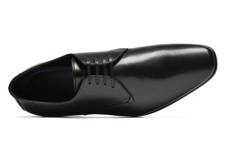 Zapatos con cordones Kenzo Westy Negro vista lateral izquierda