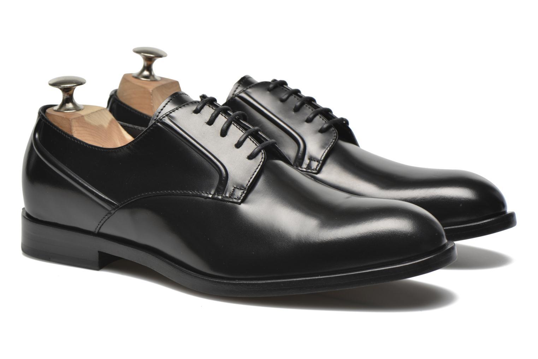 Zapatos con cordones Kenzo Archive Negro vista 3/4