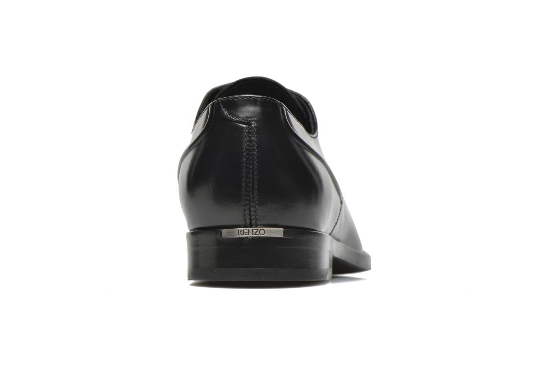 Zapatos con cordones Kenzo Archive Negro vista lateral derecha