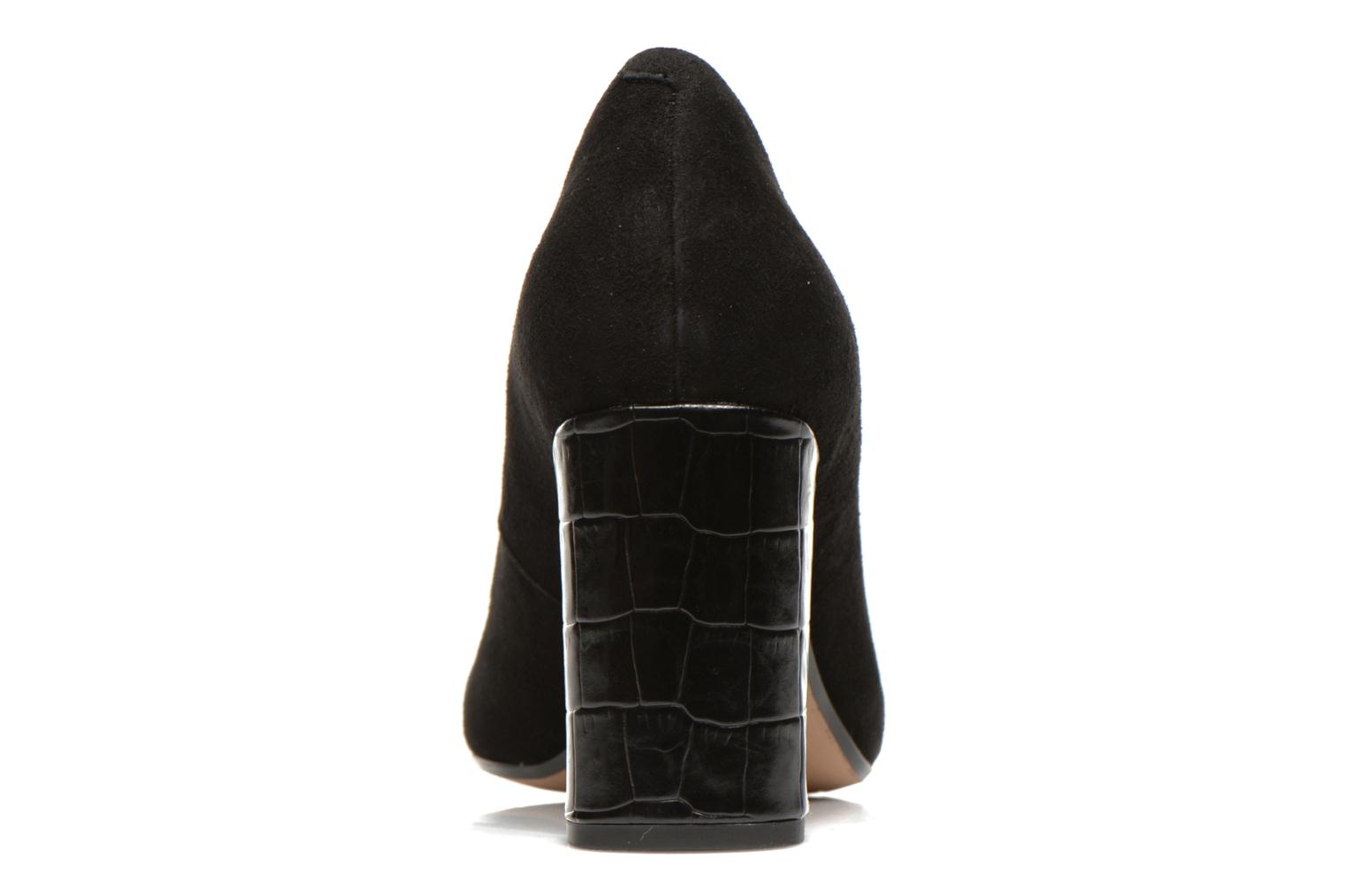 High heels Clarks Gabriel Mist Black view from the right