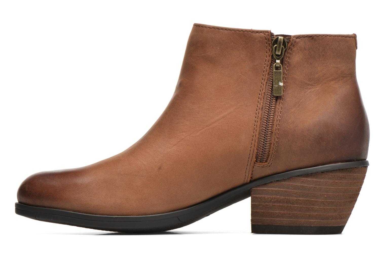 Bottines et boots Clarks Gelata Italia Marron vue face