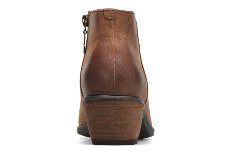 Bottines et boots Clarks Gelata Italia Marron vue droite