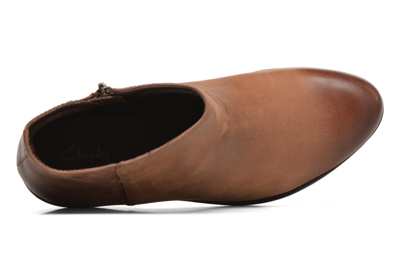 Bottines et boots Clarks Gelata Italia Marron vue gauche
