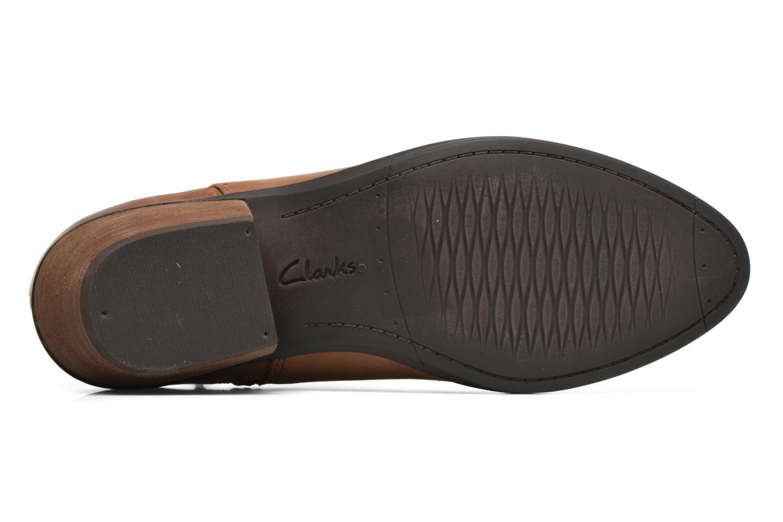 Bottines et boots Clarks Gelata Italia Marron vue haut