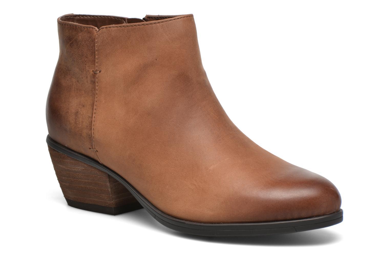 Bottines et boots Clarks Gelata Italia Marron vue détail/paire