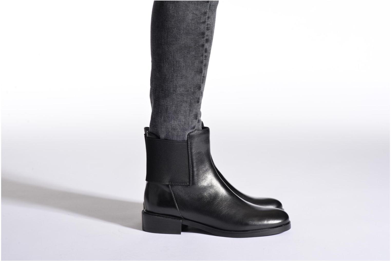 Bottines et boots Clarks Marquette Wish Gris vue bas / vue portée sac