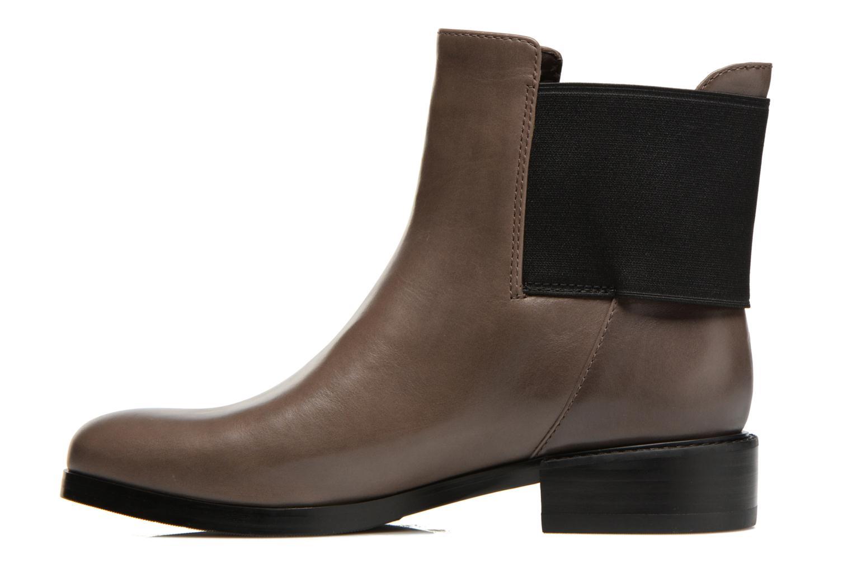 Bottines et boots Clarks Marquette Wish Gris vue face