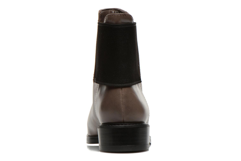 Bottines et boots Clarks Marquette Wish Gris vue droite