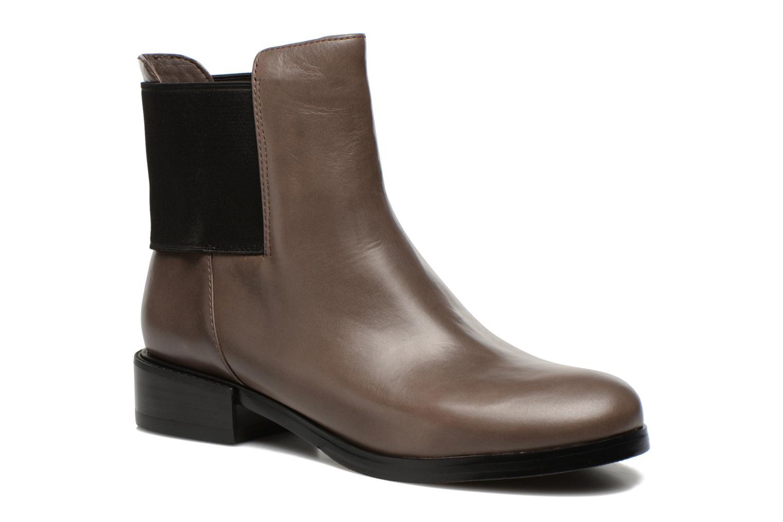 Bottines et boots Clarks Marquette Wish Gris vue détail/paire