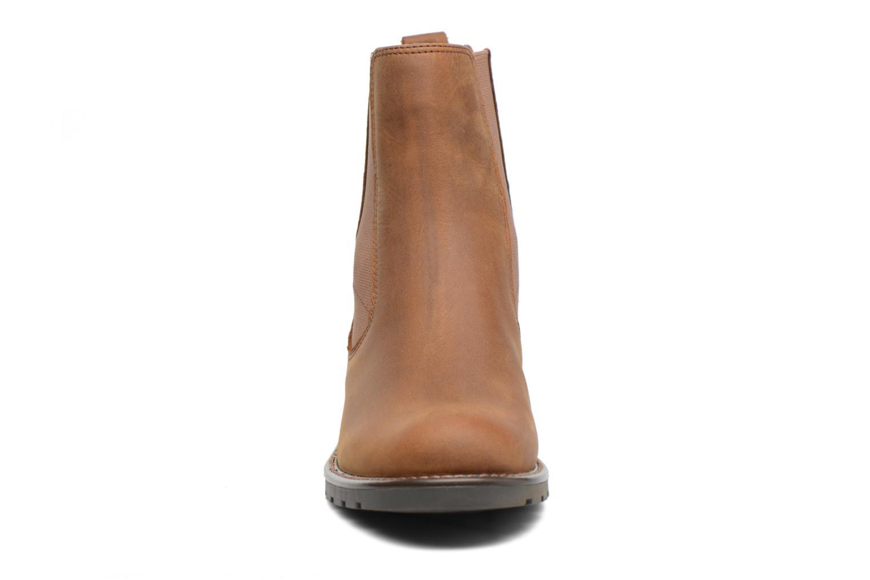 Bottines et boots Clarks Orinoco Club Marron vue portées chaussures