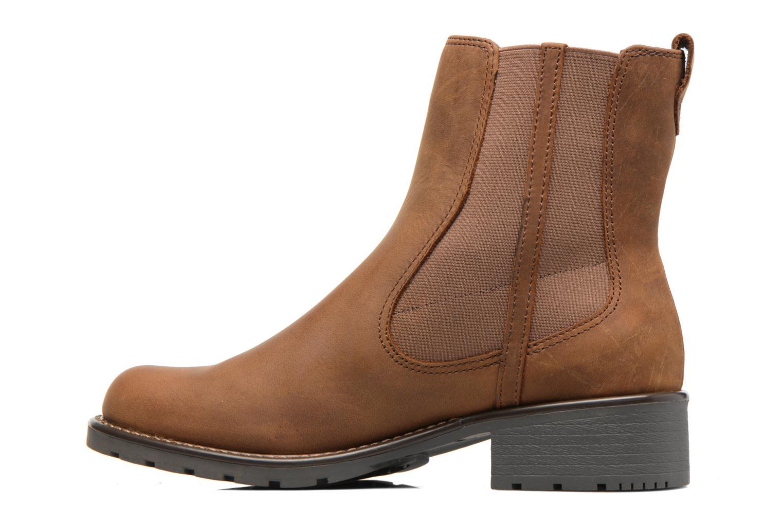 Bottines et boots Clarks Orinoco Club Marron vue face