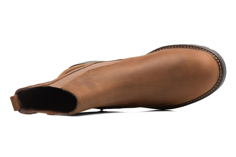 Bottines et boots Clarks Orinoco Club Marron vue gauche