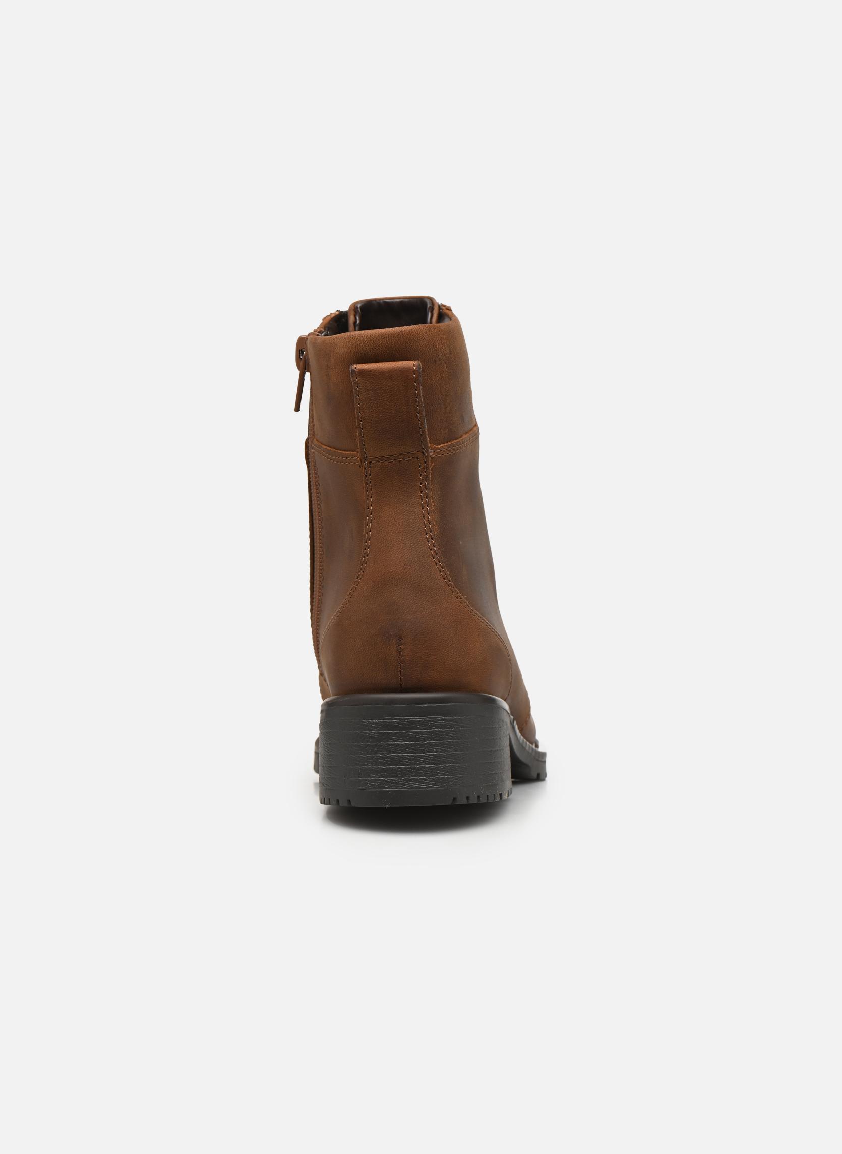 Stiefeletten & Boots Clarks Orinoco Spice braun ansicht von rechts