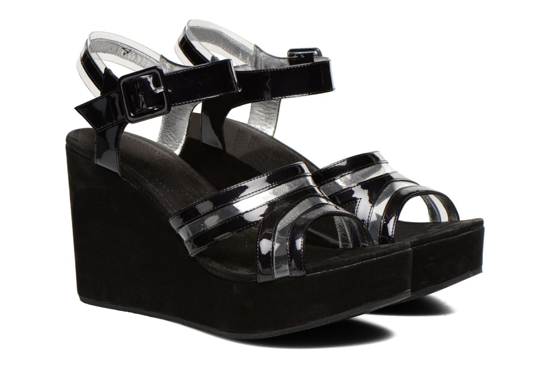 Sandales et nu-pieds Free Lance Nelfi 7 Sandlcristal Noir vue 3/4