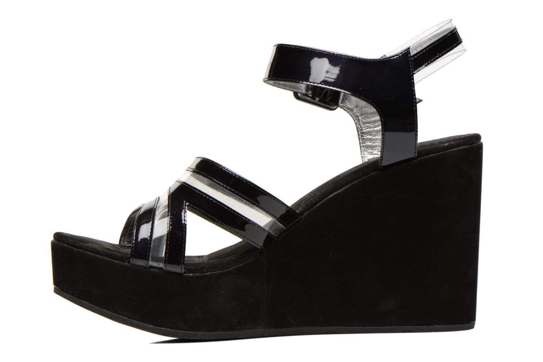 Sandales et nu-pieds Free Lance Nelfi 7 Sandlcristal Noir vue face