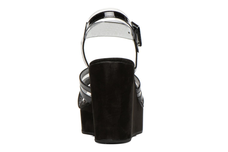 Sandales et nu-pieds Free Lance Nelfi 7 Sandlcristal Noir vue droite