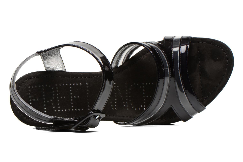 Sandales et nu-pieds Free Lance Nelfi 7 Sandlcristal Noir vue gauche