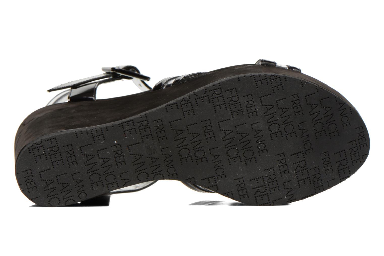 Sandales et nu-pieds Free Lance Nelfi 7 Sandlcristal Noir vue haut