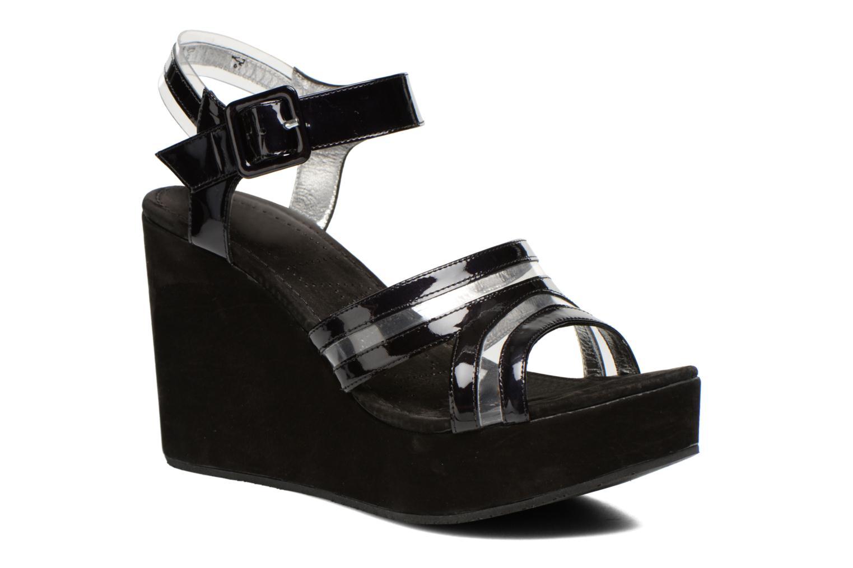 Sandales et nu-pieds Free Lance Nelfi 7 Sandlcristal Noir vue détail/paire