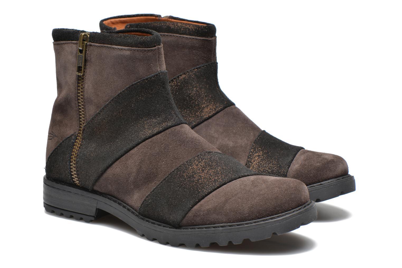 Stiefeletten & Boots Shwik STAMPA BACK ZIP braun 3 von 4 ansichten