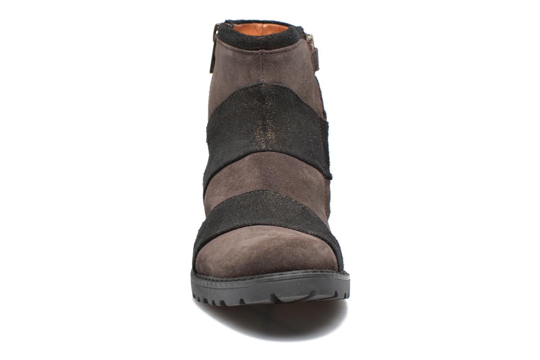 Stiefeletten & Boots Shwik STAMPA BACK ZIP braun schuhe getragen