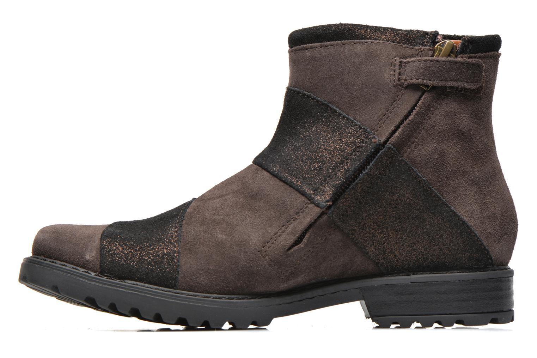 Stiefeletten & Boots Shwik STAMPA BACK ZIP braun ansicht von vorne