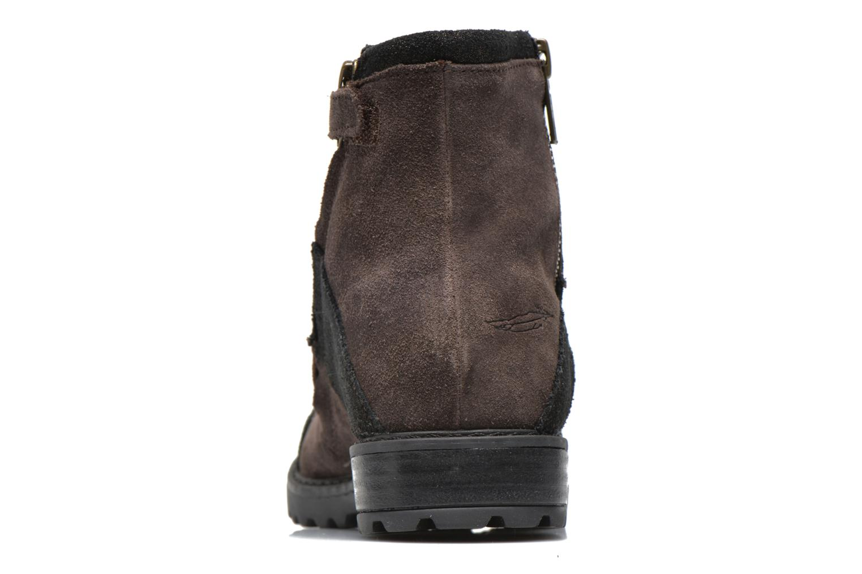 Bottines et boots Shwik STAMPA BACK ZIP Marron vue droite