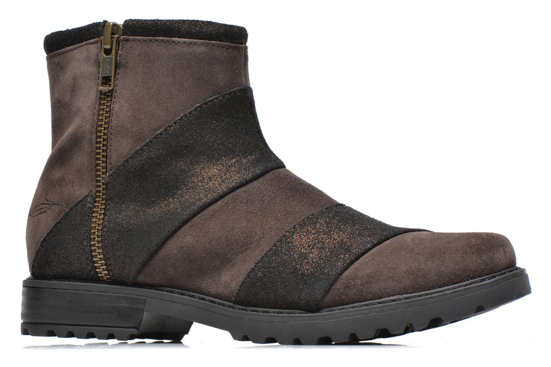 Boots en enkellaarsjes Shwik STAMPA BACK ZIP Bruin achterkant