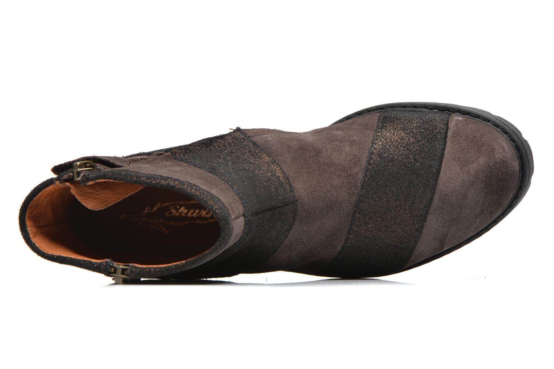 Bottines et boots Shwik STAMPA BACK ZIP Marron vue gauche