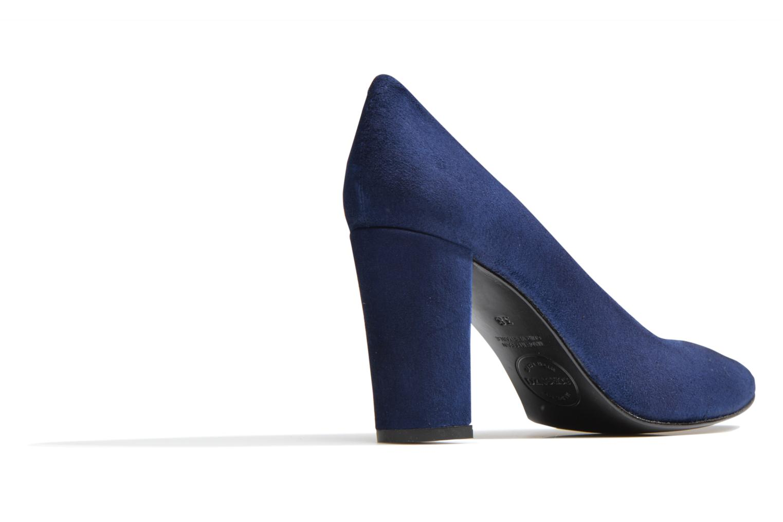 Høje hæle Made by SARENZA Glossy Cindy #16 Blå se forfra