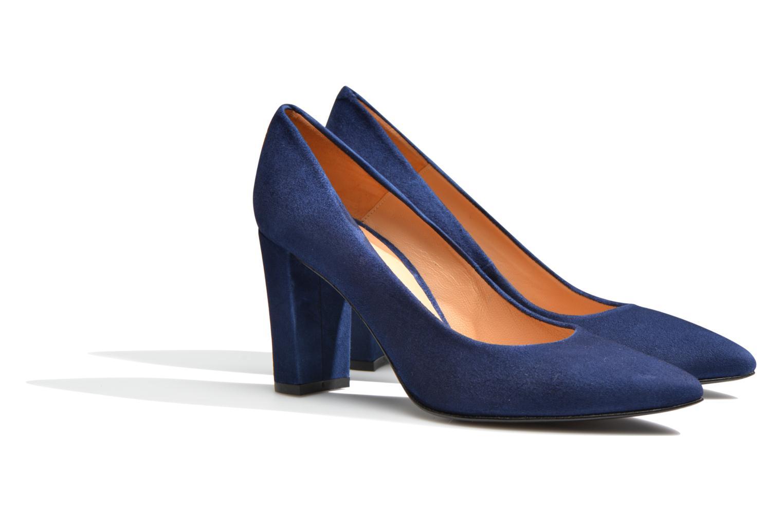 Høje hæle Made by SARENZA Glossy Cindy #16 Blå se bagfra