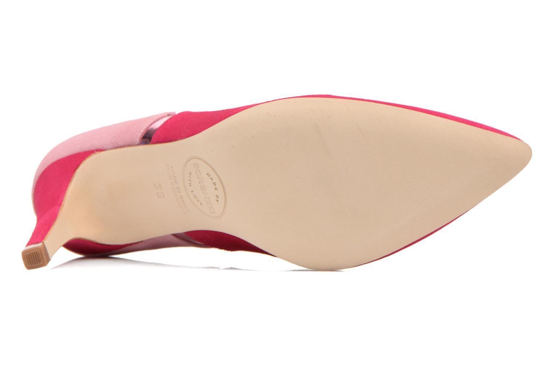 Escarpins Made by SARENZA Notting Heels #1 Rose vue haut