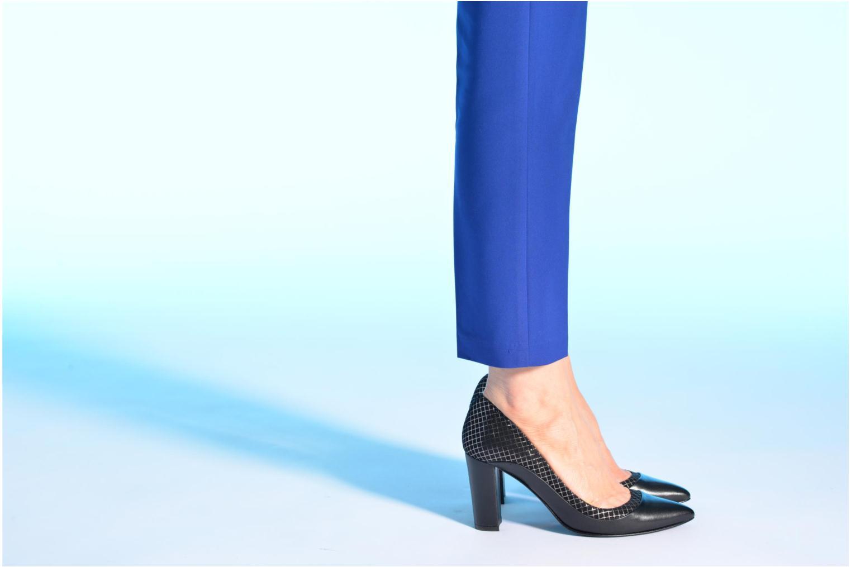 Escarpins Made by SARENZA Notting Heels #3 Noir vue bas / vue portée sac